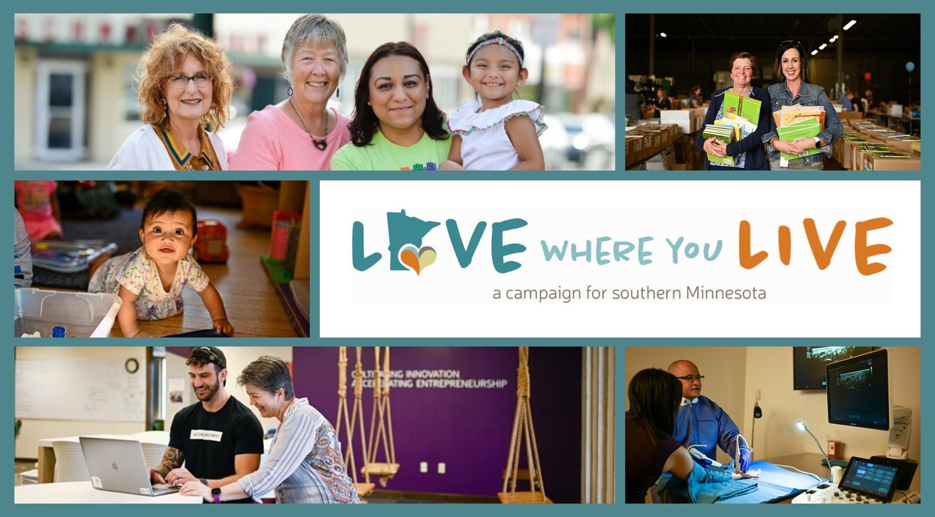 Love Where You Live - a campaign for southern Minnesota